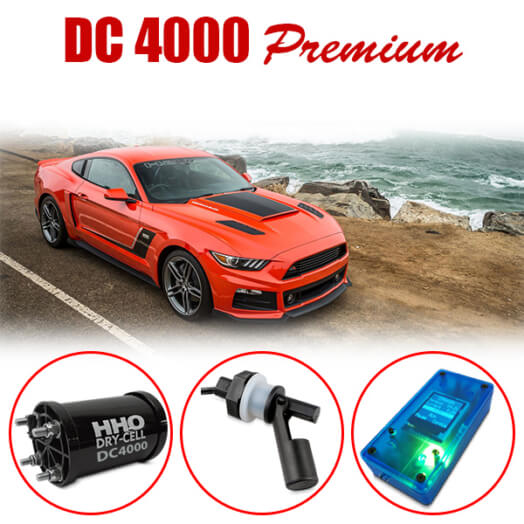 HHO Gas DC4000 premium kit