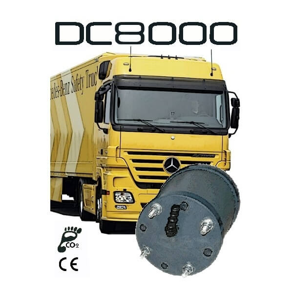 hhogas DC8000 truck